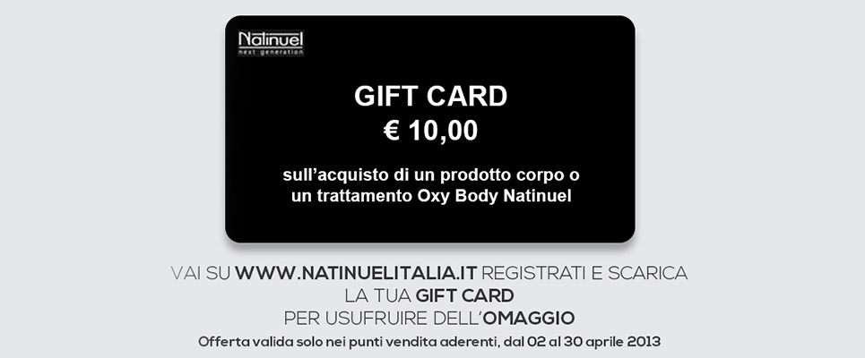 Gift Card Natinuel